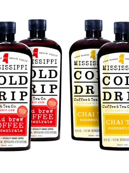 3 Cold Brew Coffee Concentrate (16-ounce) and 3 Chai Tea Concentrates (16-ounce)