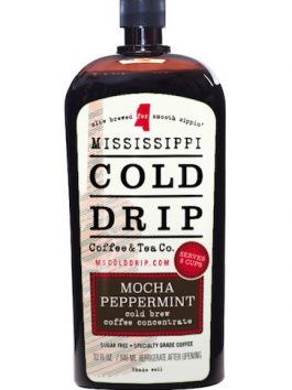 "Cold Drip Coffee Concentrate ""Mocha Peppermint"" 32-Ounce"