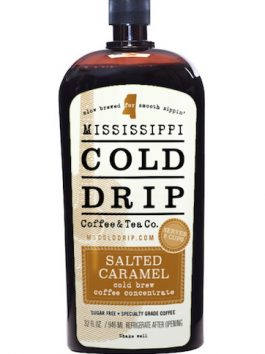 "Cold Drip Coffee Concentrate ""Salted Caramel"" 32-Ounce"