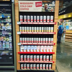 Mississippi Cold Drip Coffee Concentrate in Whole Foods in Memphis